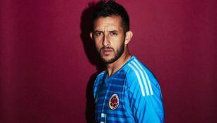 Camilo Vargas con la camiseta de la selección de Colombia