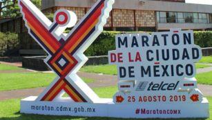 Logo del Maratón de la CDMX 2019