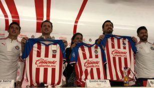Chivas presenta a su nuevo patrocinador