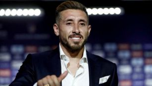 Herrera, en conferencia de prensa