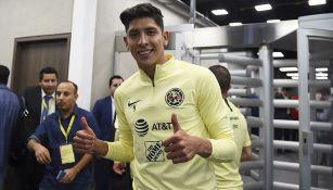 Edson Álvarez, previo a su venta a Ajax