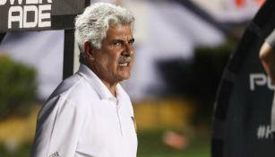 Ricardo Ferretti, en el banquillo de Tigres
