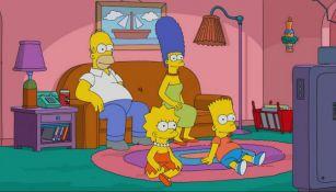 Homero, Marge, Bart, Lisa, personajes de The Simpsons