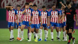 Chivas agradece a su afición tras la derrota frente al Atlético de Madrid