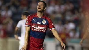 Hiram Mier lamenta una derrota de las Chivas