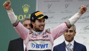 Sergio Pérez superó a NicoHulkenbergy Charles Leclerc