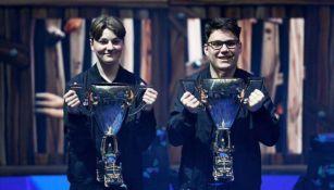 Nyhrox y Aqua, dupla campeona de Fortnite