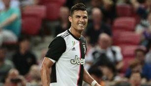 Cristiano Ronaldo, en un juego con la Juventus