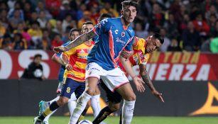 Peñalba durante su primera etapa como jugador de Veracruz