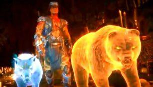 Nightwolf en el nuevo tráiler de Mortal Kombat 11