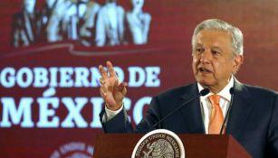 López Obrador en conferencia de prensa matutino