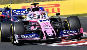Checo Pérez en el Gran Premio de Hungría