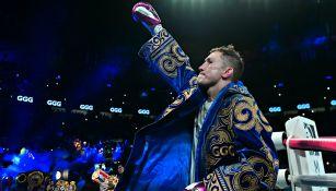 Gennady Golovkin tras un combate ante Canelo Álvarez