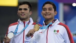 Kevin Berlín e Ivan García con sus medallas de Lima 2019