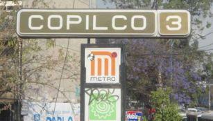 Estación Copilco del Metro de la CDMX