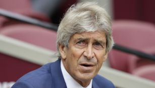 Manuel Pellegrini, en el juego entre Manchester City y West Ham
