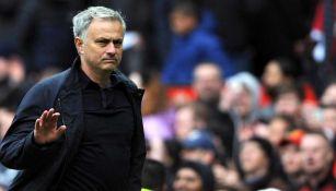 José Mourinho cuando dirigía en la Premier League