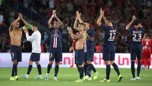 PSG agradece a su afición tras un partido
