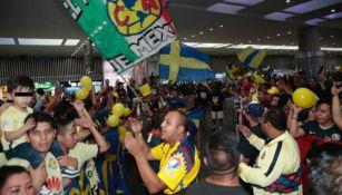 Aficionados de América, emocionados por la llegada de Ochoa