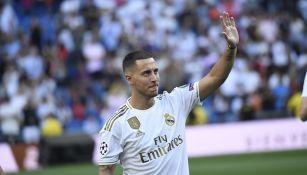 Hazard pretende quedarse en el Real Madrid muchos años