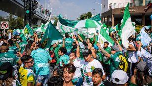 La afición de León previo al partido contra Chivas