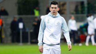 Chucky Lozano previo a un duelo con el PSV