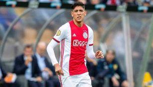 Edson Álvarez en su debut con el Ajax de Holanda