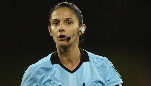 Luciana Mascarana, durante un partido