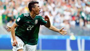 Lozano, tras anotarle gol a Alemania en el Mundial Rusia 2018