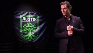 Matthew McConaughey, nuevo dueño del Austin FC