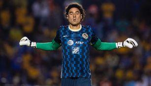Memo Ochoa previo al Tigres contra América