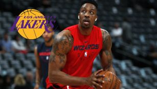 Dwight Howard antes de un partido con los Wizards