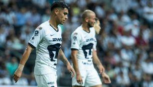Jugadores de Pumas se lamentan tras derrota ante Rayados