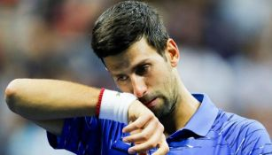 Djokovic se lamanta durante US Open