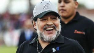 Maradona, durante su etapa en Dorados