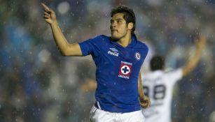 Chuletita Orozco cuando jugaba con el Cruz Azul