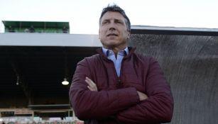 Siboldi observa un partido en Chihuahua