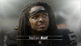 Neiron Ball, exjugador de los Raiders
