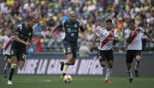 Jérémy Ménez conduce la redonda en duelo contra River Plate