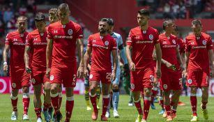 Jugadores del Toluca, decepcionados tras juego contra Morelia