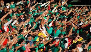 Aficionados de México, durante un partido del Tricolor