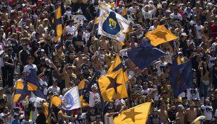 Fans de Pumas, en juego en CU