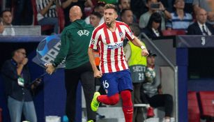 Héctor Herrera celebra gol contra la Juventus