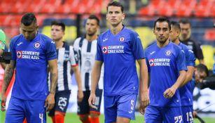 Jugadores de La Máquina se lamentan tras empate ante Rayados