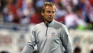 Klinsmann, durante un partido de Estados Unidos