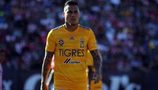 Edu Vargas, tras un compromiso de los Tigres