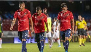 Jugadores del Veracruz se lamentan