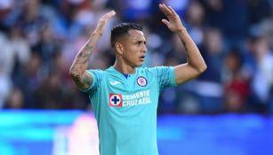 Yoshimar Yotún, en el juego entre Pachuca y Cruz Azul