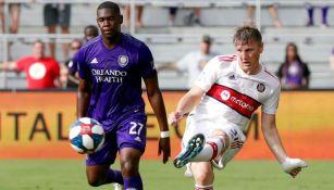 Bastian en un partido en contra del Orlando City,