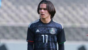 Bruce El-Mesmari, jugador de origen armenio de la Sub 17